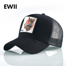 Embroidery snapback caps women breathable mesh baseball cap men summer fitted hip hop hats for women