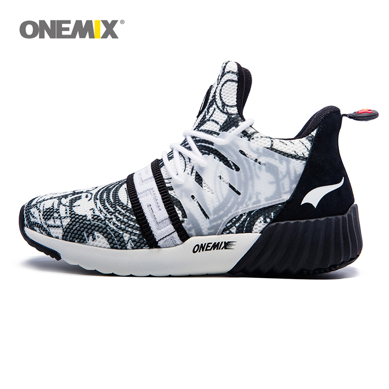 ONEMIX Running Shoes for Men s Breathable Lightweight Shock Absorbing Shoes 2018 Unisex Sneakers Outdoor Jogging