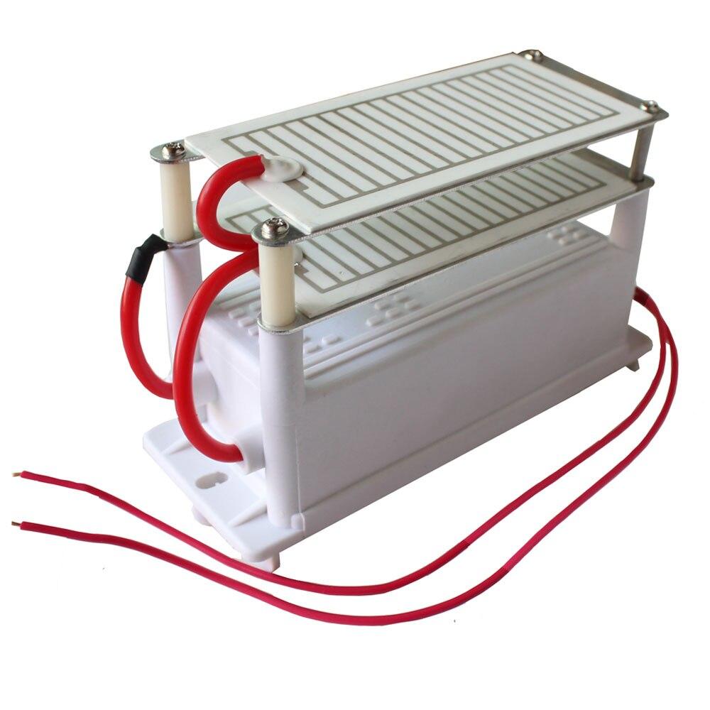 1pc Dropshipping  Ozone Generator 220v/110v 7g 7000mg Double Integrated Ceramic Plate Ozonizer Air Disinfection мультитулы stinger мультитул 9 инструментов
