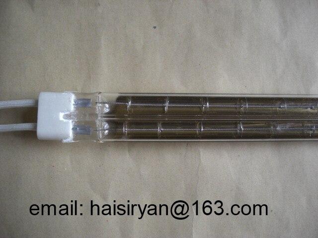 Купить с кэшбэком middle wave IR emitters halogen twin tube heater quartz heating elements infrared lamps