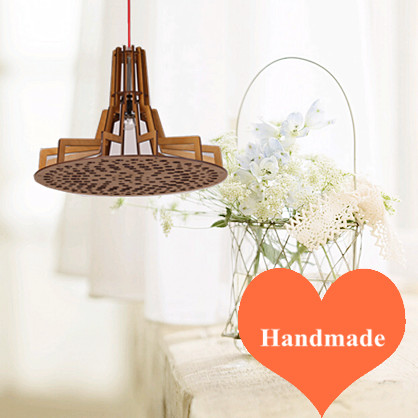 New chinese rural style Ply-Wood chips Chandelier handmade E27 LED lamp indoor hang lamp for porch&vestibule&corridor BT280 epidemiology of indoor particulate pollutants impact on rural areas
