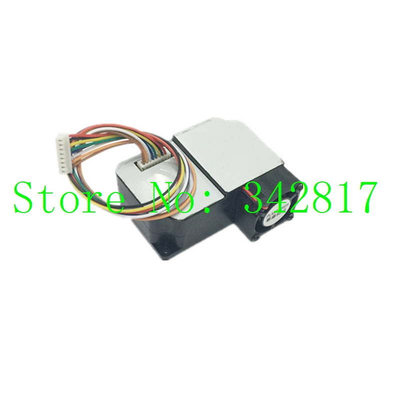 PMS5003 High precision Laser Dust Sensor PM1.0 PM2.5 PM10 Built-in Fan US