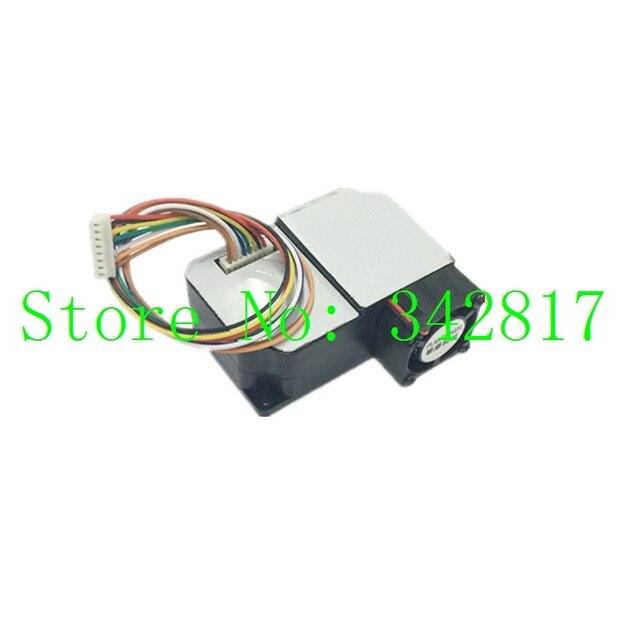 PMS3003, דיוק גבוה לייזר מודול חיישן אבק PM2.5 PM1.0 PM10 מאוורר מובנה