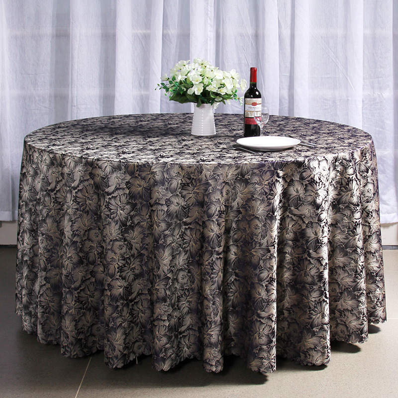 ronda para bodas mantel rectangular mantel bordado para party banquet dinner table cloth para evento