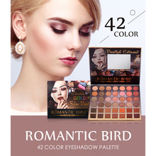 ROMANTIC BIRD Cosmetic eyeshadow palette 42 colors matte eyeshadow palette glitter eye shadow makeup nude makeup set Cosmetics eyeshadow palette 180 colors matte eye shadow naked palette glitter eye shadow makeup nude makeup set korea cosmetics