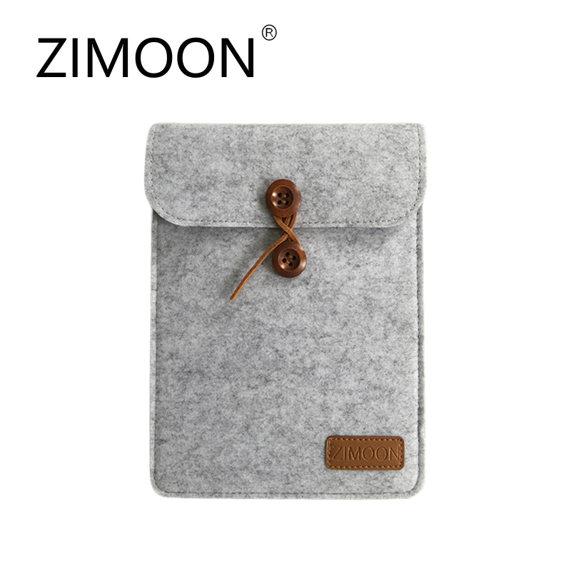 Zimoon Case For Kindle General Felt Cover For Amazon Kindle Paperwhite 1/2/3 Bag For Kindle Voyage 6 inch Ebook Tablet sleeve pouch case for amazon kindle paperwhite new kindle kindle voyage 6 inch easy carry e book e reader sleeve cover case bag