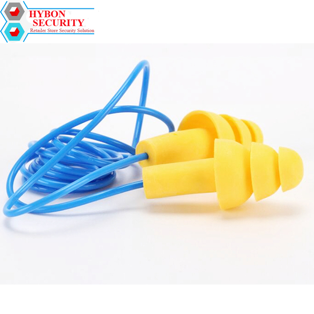 346581a91 2 pares (4 pcs) 3 m Tapones Oidos Protetor Auricular Silicone Ear Plugs  Tampões