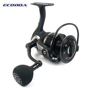 Image 4 - Бесплатная доставка, металлическая катушка ECOODA Black hawk EBH II 1500 5000 второго поколения для спиннинга, Рыболовная катушка 11Bear
