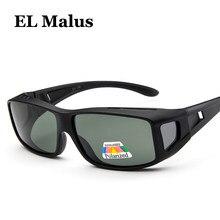 ade721626e [EL Malus] Retro marco cuadrado gafas sol polarizadas TAC Lens UV400  mujeres hombres marca diseñador negro espejo gafas