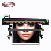 locor/Lecai Cheap Factory Supply Wide Format Digital Banners Vinyl Printing Machine Eco Solvent Network Label Printer Poster