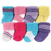 Носки для новорожденных; детские носки «I Love baby»; 8 шт. в упаковке - Цвет: SK8001-6M