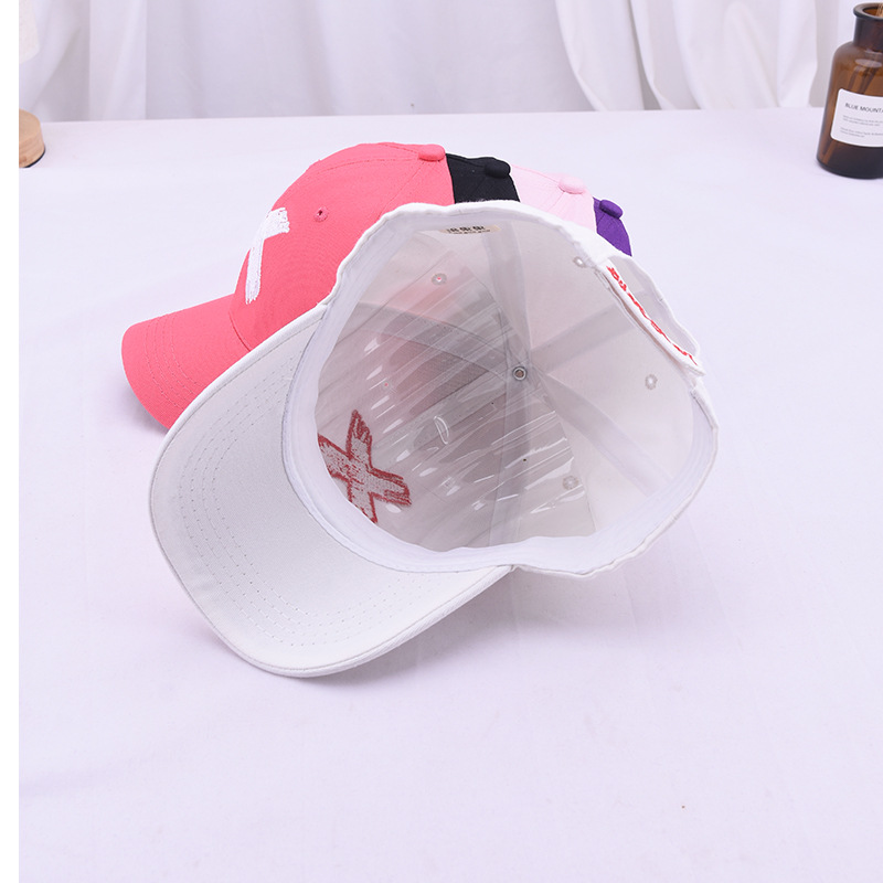 e4d1fcebe Big Discount] Children's Baseball Cap X Letter Leisure Travel ...