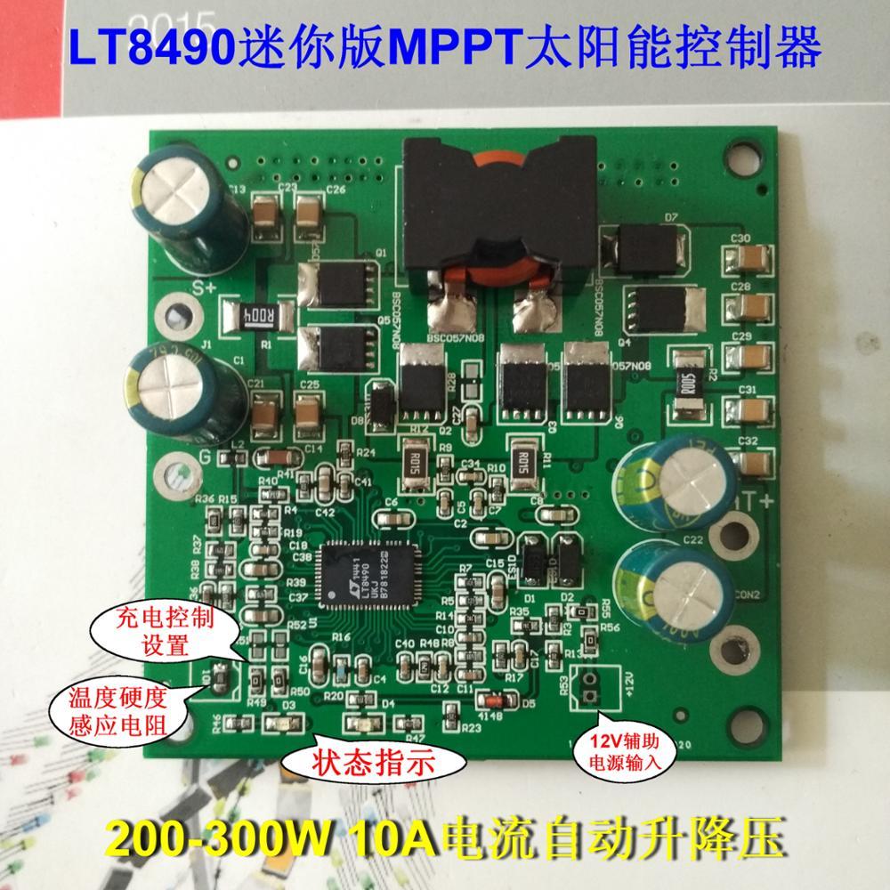 Buy 600w Solar Mppt Cc Cv Charging 28 80v Lt8705 Battery Charger Circuit Simulator Homemade 300w Controller Mini Version Lt8490 Single Chip Intelligent Control Pack