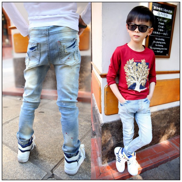 Aliexpress.com : Buy 2015 hot fashion spring paint point boys ...