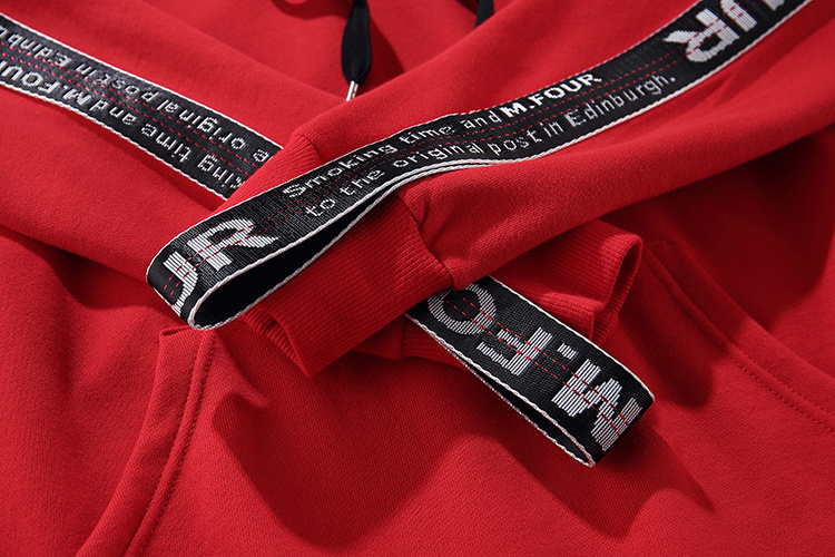 Ribbon Sleeve Hoodies 10