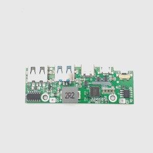 Image 4 - Быстрая зарядка 3,0 запасная часть внешнего аккумулятора PD3.0 литий ионная батарея Pcba печатная плата PCB 5 в 2 а 9 в 2 а 12 в а модуль бустера USB