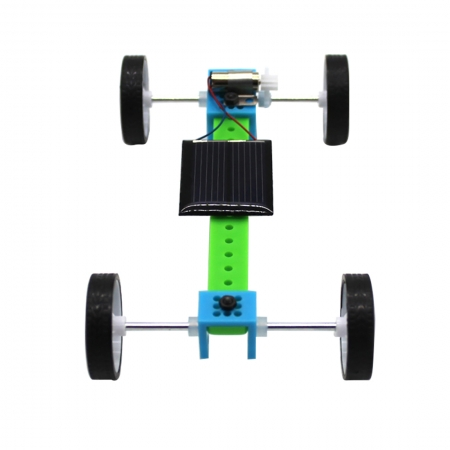 DIY Solar Vehicle Car Technology Light Energy Conversion Electric Energy Model Teaching Aid DIY Maker Science Experiment Toy