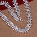 wholesale fine 925-sterling-silver necklace fashion jewelry chain fish bone necklaces & pendants women men collar SN166