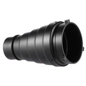 Image 2 - Metalu stożkowe osłona reflektora z siatką w plaster miodu 5 sztuk filtr kolorów zestaw do Bowens Mount Studio Strobe Monolight fotografii Flash