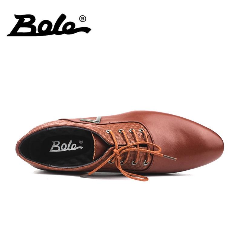 c4b3cf251 Vestir Cordones Grandes Calidad Novedad Cabeza marrón Negocios Para Con 50  Puntiagudos Bole Hombre 36 Zapatos chocolate Tallas ...
