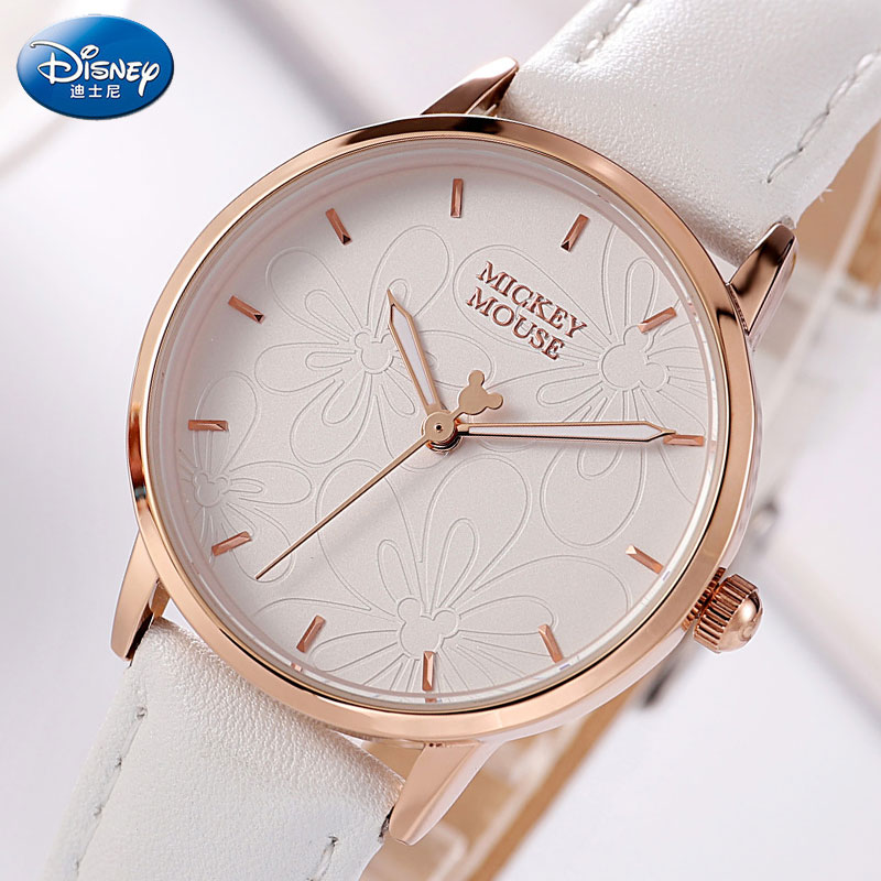 DISNEY Brand Women Watches Fashion Mickey Dress Watches For Woman Quartz Watch Ladies Wrist Watch Female Clock Relogio Feminino fashion luxury clock women watch woman watches brand quartz ladies wrist watches relogio feminino wristwatches female clock2018