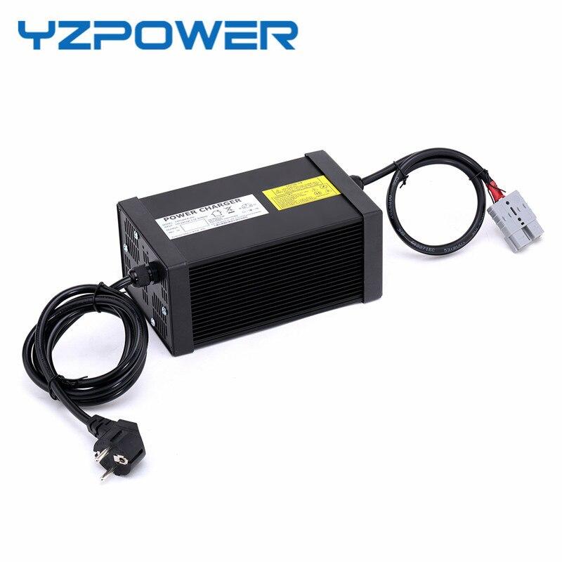 YZPOWER 84V 6A 7A 8A 9A 10A Li-ion Chargers Lipo Lithium Battery Charger for 72V Lithium ion Battery