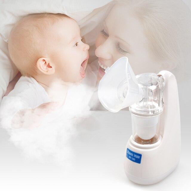 ELERA тихий ингалятор для детей и всех возрастов ингалятор для астмы мини Nebulizador Automizer семейный ингаляционный прибор ультразвуковой