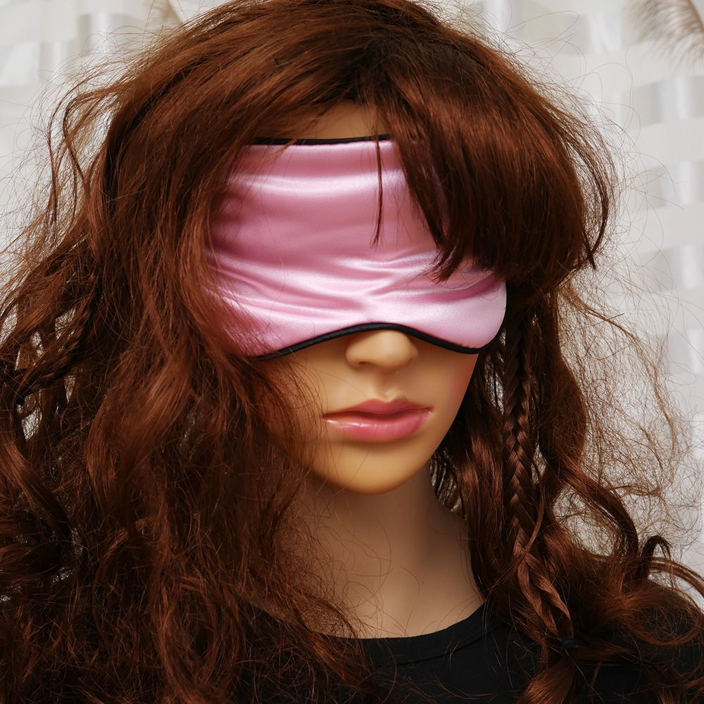 1Pcs New Pure Silk Sleep Rest Eye Mask Padded Shade Cover Travel Relax Aid Blindfolds 2