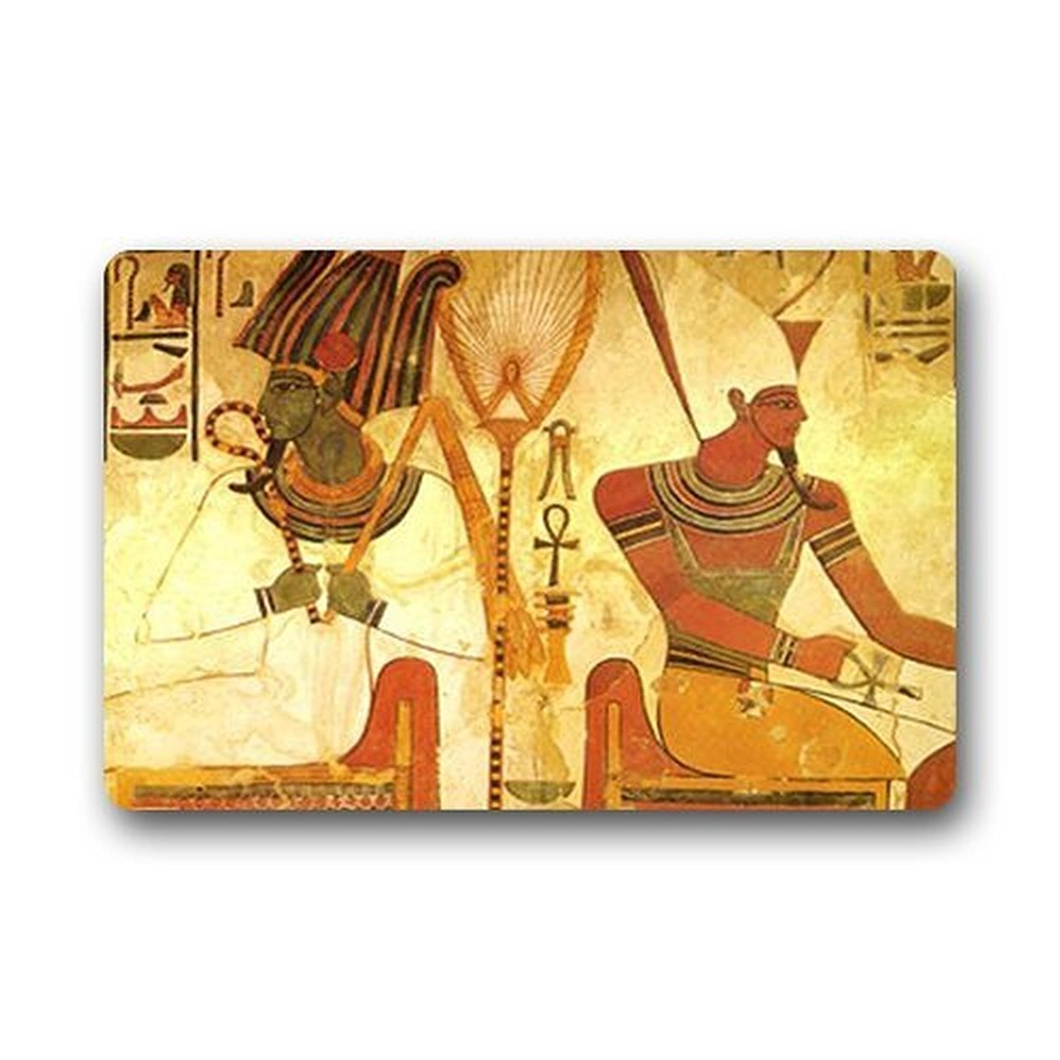 Kitchen Accessories Egypt: Memory Home Ancient Egypt Ankh Background Doormat Gate Pad