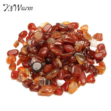 Natural Tumbled Carnelian Crystal Red Gravel