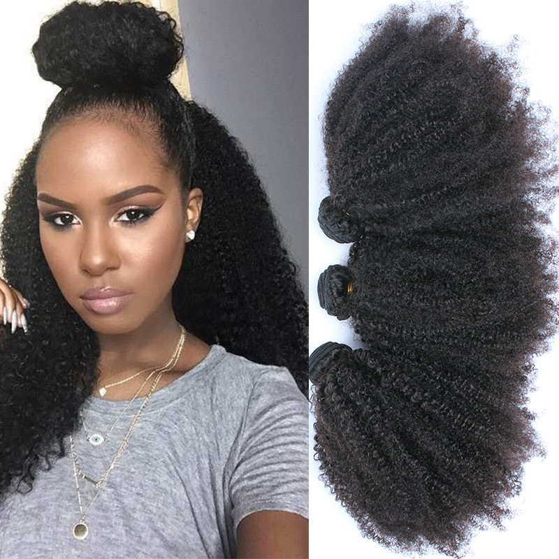 Buy Malaysian Curly Hair 3Pcs Kinky Curly