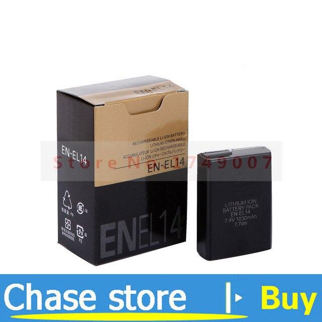 EN-EL14 batteries ENEL14 EN EL14 Camera Battery For Nikon P7000 / P7100 / D600 / D5200 / D3100 / D3200 / D5100