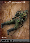 Ww2 Killed In Stock Evolution-miniatures Em-35173 1/35 German Ss Soldier Buy Now