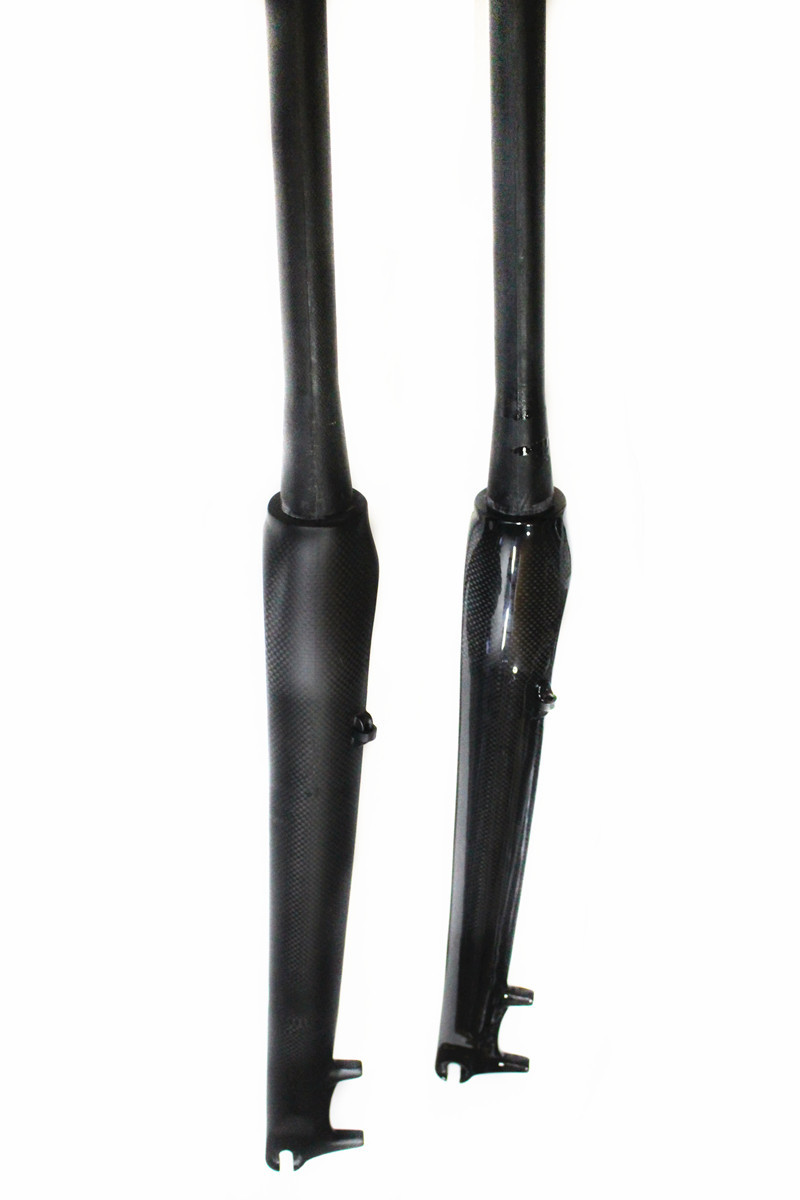 все цены на New full carbon fiber mountain bike fork bicycle forks 26 27.5 29ER IN Bicycle Parts Bicycle Mtb Fork онлайн