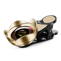 Mobile Phone Lens 115 Degree Wide Angle 15X Micro Phone Camera Lens for iPhone Huawei EM88