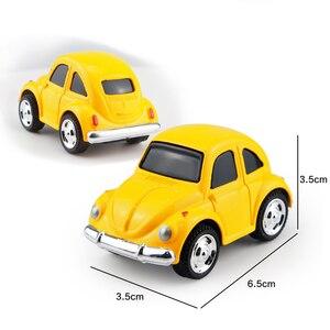 Image 5 - Mini voiture en alliage moulé sous pression, modèle de voiture pour garçons, Collection de voiture, petit véhicule, piste de course, Simulation de cadeau