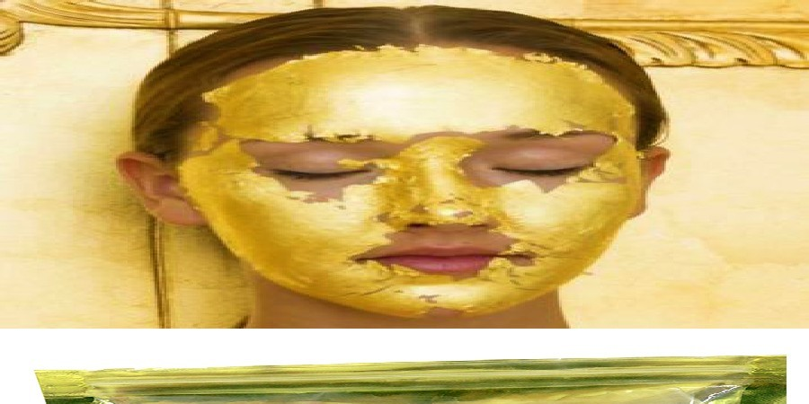 24K GOLD Active Face Mask Powder Brightening Luxury Spa Anti Aging Wrinkle 24K Gold Mask Powder Treatment Facial Mask 300G 9