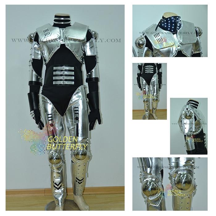 LED Robot Costume Luminous Light Clothing Dance Suit Men Show Halloween Mardi Gras Carnival Science Fiction Movie Robot Costumes-in Ballroom from Novelty ... & LED Robot Costume Luminous Light Clothing Dance Suit Men Show ...