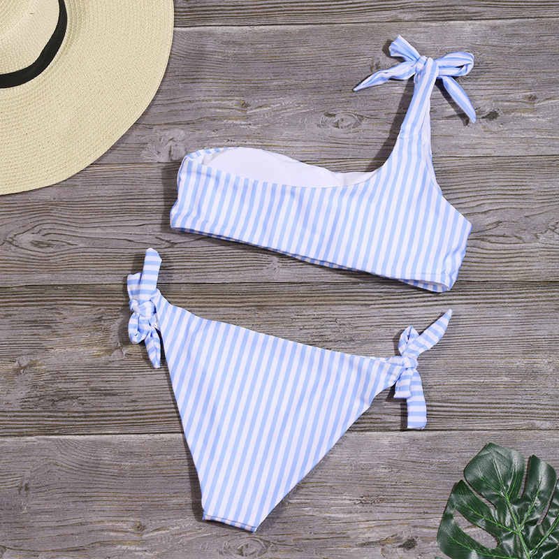 HTB1OEXOebus3KVjSZKbq6xqkFXaI - Sexy Stripe Bikinis Set Women One Shoulder Swimwear Low Waist Bandage Bathing Suit Swimsuit Summer Tube Top Female Beachwear