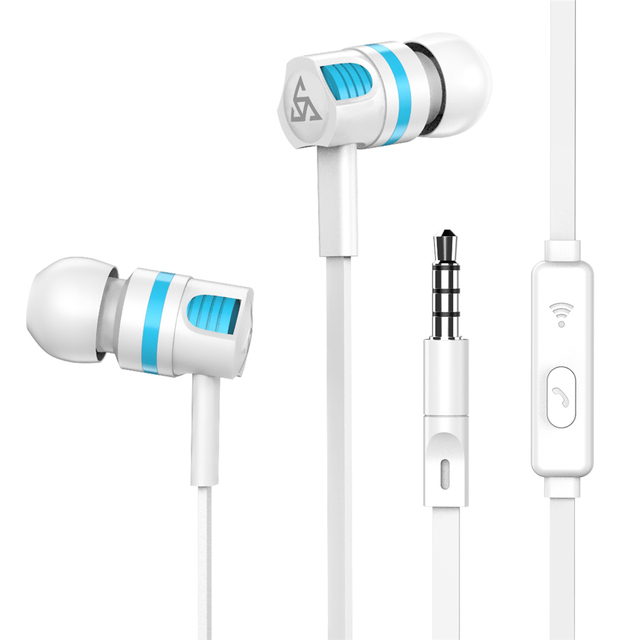 Original PTM XS1 Stereo Earphone Super Bass Headphones with microphone Gaming Headset for Mobile Phone