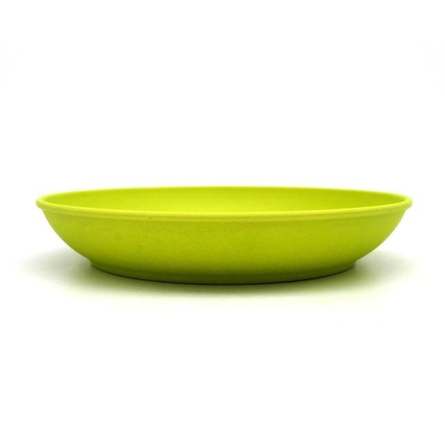 Deep dishes dinner plate new design deep bowls bamboo fiber dishes cake white blue plates designer  sc 1 st  AliExpress.com & Deep dishes dinner plate new design deep bowls bamboo fiber dishes ...
