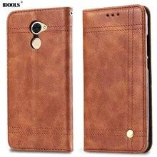 Чехол для Huawei Y7 премьер vinatage из искусственной кожи грязь устойчивы охватывает телефон Сумки Чехлы для Huawei наслаждаться 7 Plus 5.5 дюймов одноцветное Coque