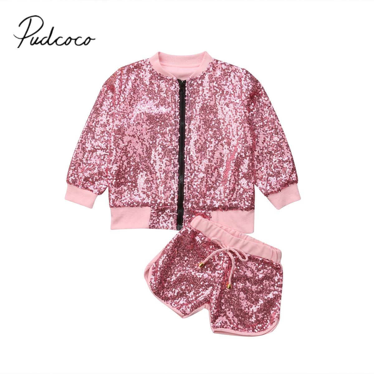 Shorts Pudcoco Marke Neue 2 Pcs Neugeborenen Kinder Baby Mädchen Bogen-knoten Party Shorts Bottoms Pailletten Hosen Sommer Mädchen Kleidung
