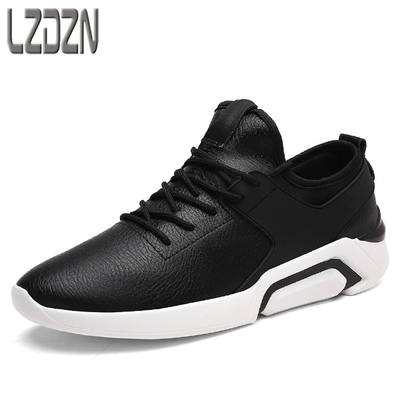 In the autumn of 2017 the new trend of Korean youth movement all-match men's running shoes casual shoes soled shoes the fall of new men s casual shoes leather trend of korean youth all match low men shoes