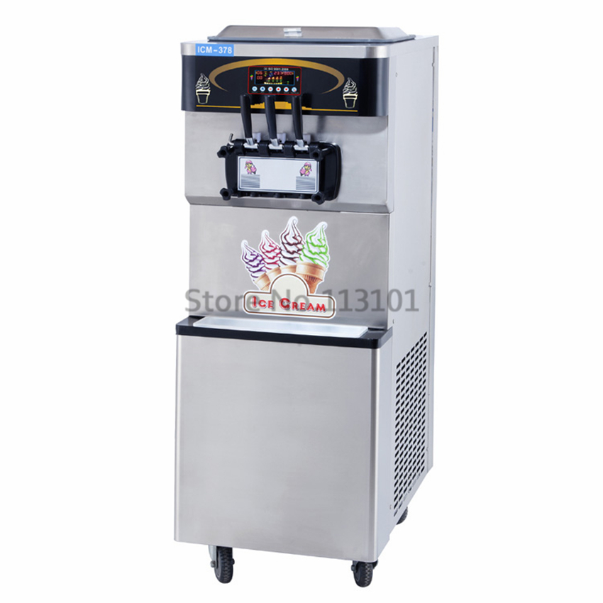 Softy ice cream making machine commercial steel soft serve ice how to make tasty soft ice creamfrozen yogurt icecream by soft serve ice cream machine ccuart Gallery