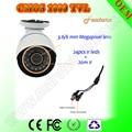 Câmera de CCTV HD Câmera de Vigilância de Infravermelho bala Câmera de Segurança 1000TVL PALNtsc Oem Suportado