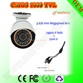 CCTV Camera HD Infrared Surveillance Camera Security bullet Camera 1000TVL PALNtsc Oem Supported