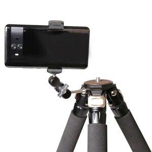 Image 5 - XILETU TM 1 Universel Bras Externe 1/4 Vis peut être monté sur Trépied lumière flash micro téléphone clip de fixation