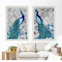 New 5D Diamond Painting Novelty 2019 Peacock Diamond DIY Special Daimond Painting Accessories Diamond Embroidery Home Decoration