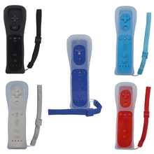 Remote Gamepad  Controller With Silicone Case and Wrist Strap for wii without Motion Plus